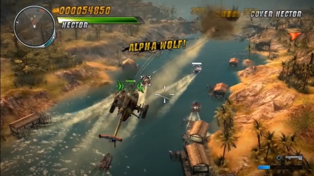 Image from Thunder Wolves Gameplay Trailer