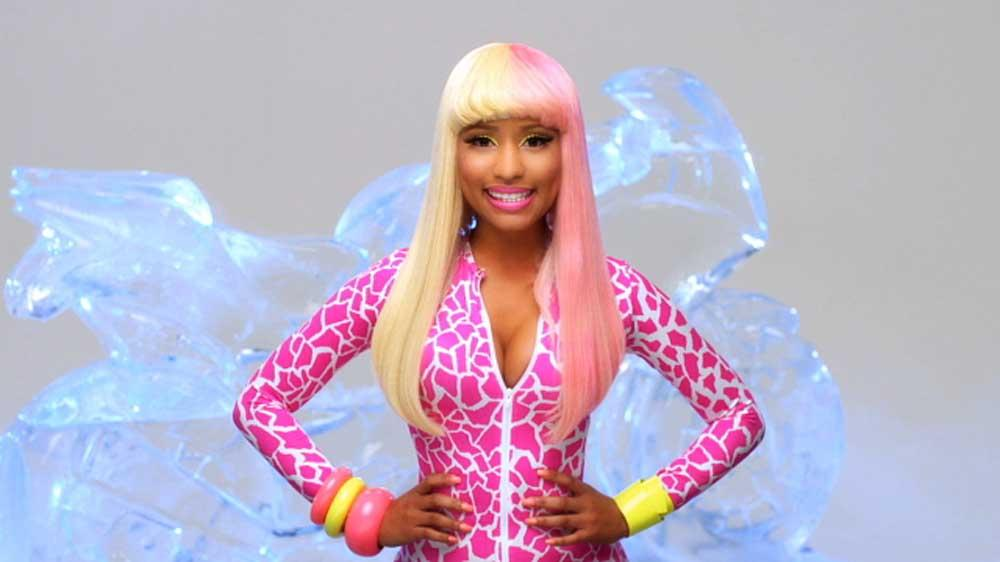 Image from Super Bass (lip-dub)