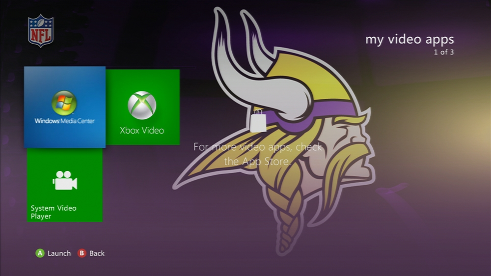 Image from NFL - Vikings Highlights