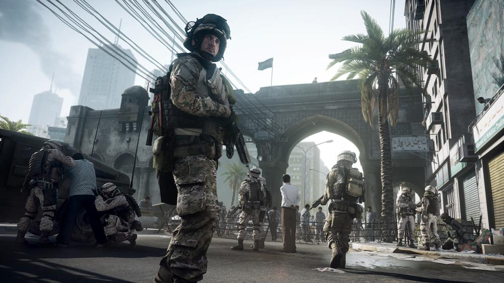 Imagen de Juego en la frontera caspia en Battlefield 3: Jets