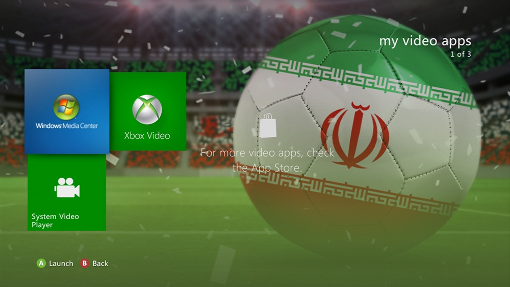 Image from World of Football - Iran Theme