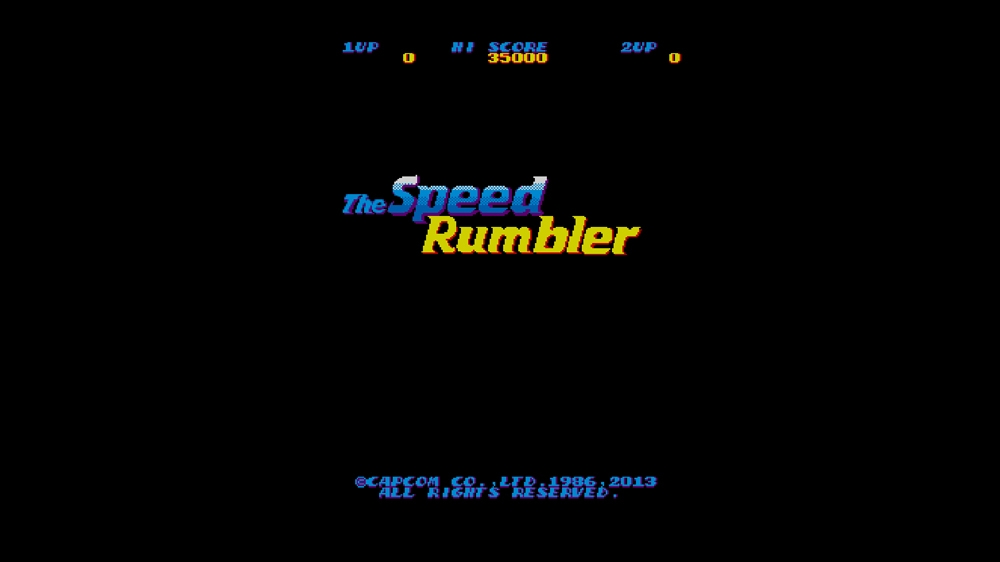 Bilde fra CAPCOM ARCADE CABINET : The Speed Rumbler