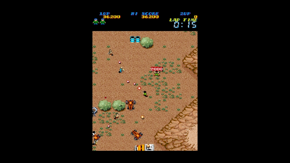 Image from CAPCOM ARCADE CABINET : The Speed Rumbler