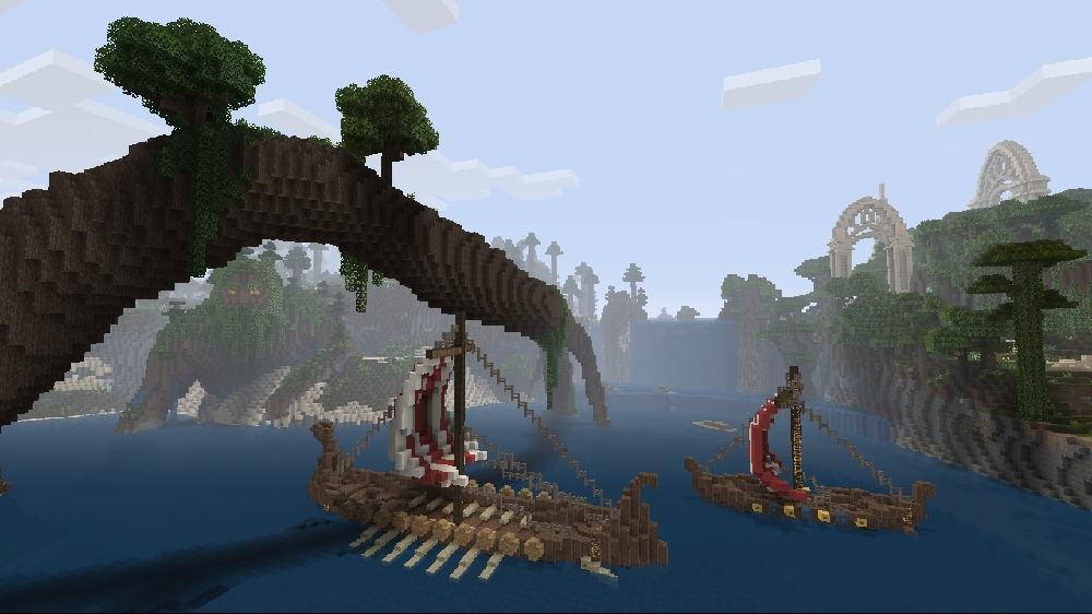 Image from Minecraft Norse Mythology Mash-up