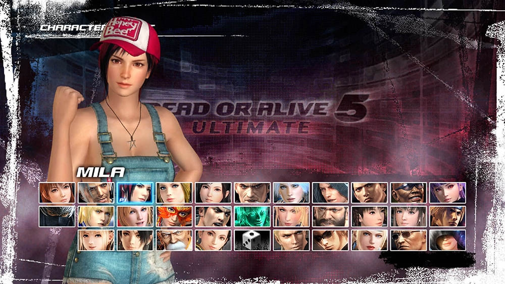 Image from Dead or Alive 5 Ultimate Mila Overalls