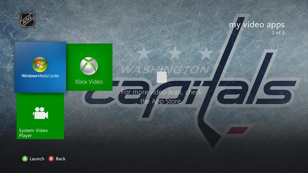 Bild von NHL - Capitals Highlight Theme