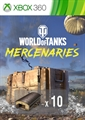 World of Tanks - Préparation du garage