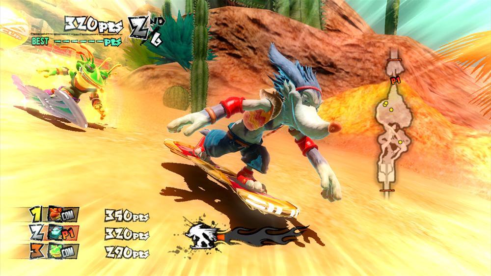 Snímek ze hry Pestor's Board