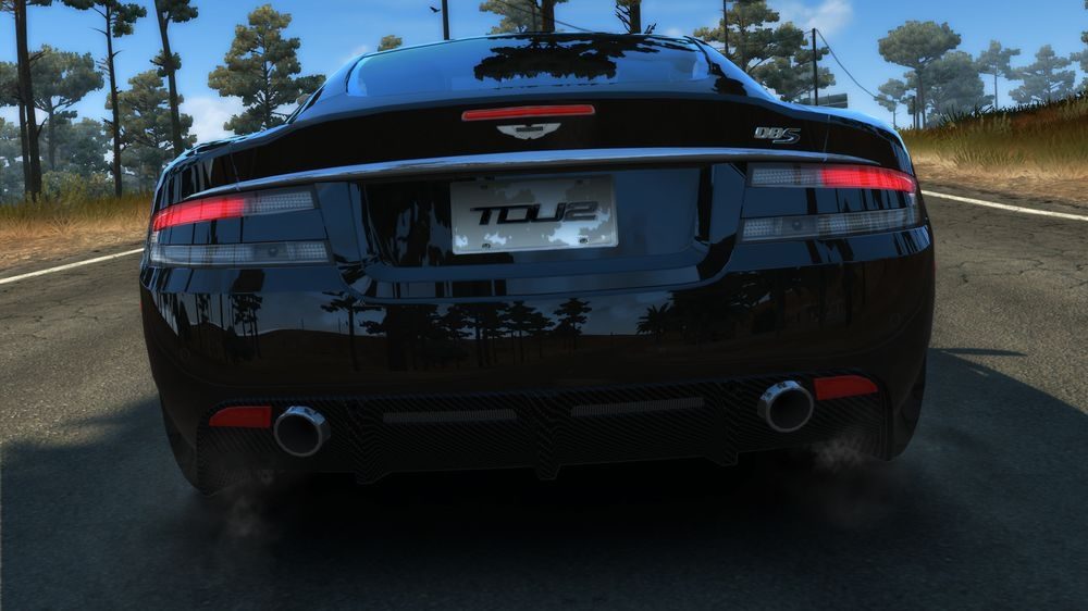 Image from TDU2: Aston Martin DBS Carbon Black Edition