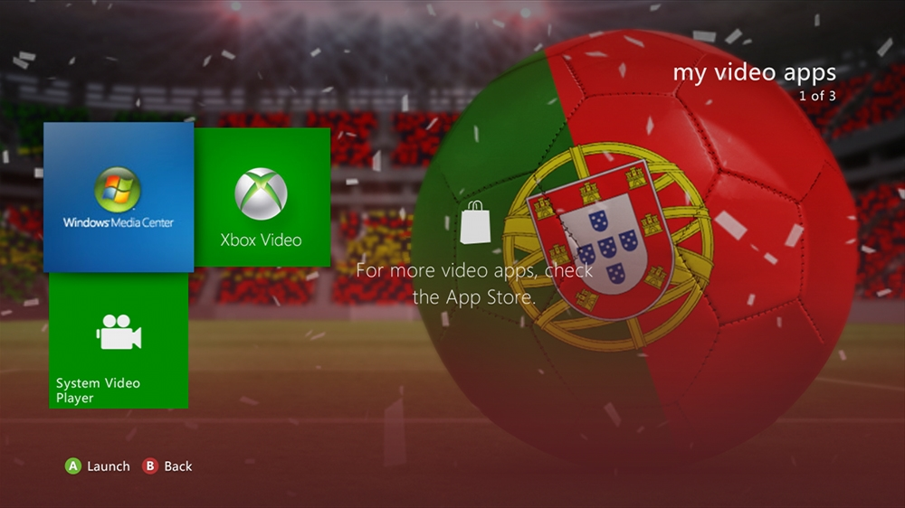 Image from World of Football - Portugal Theme