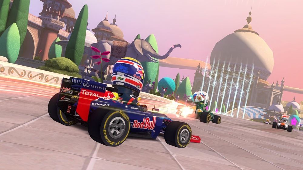Image from F1 RACE STARS India Track