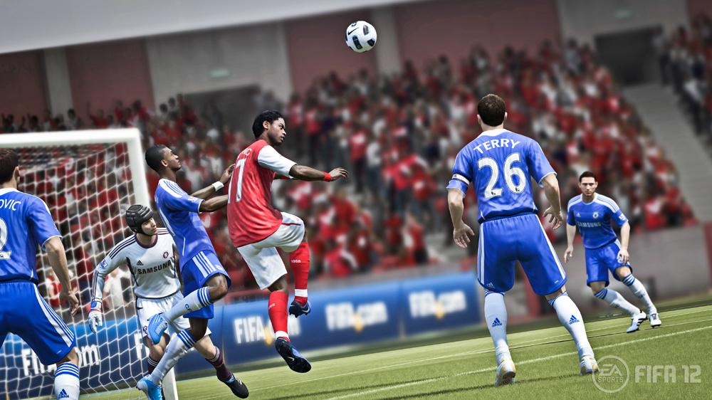 Image from EA SPORTS™ FIFA 12 Gamescom Trailer