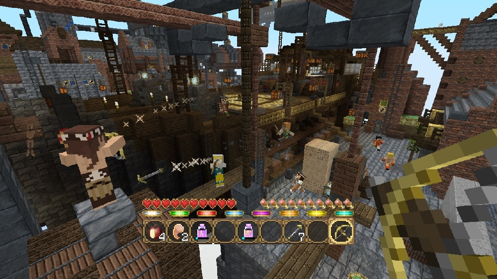 Image from Minecraft Battle Map Pack 3
