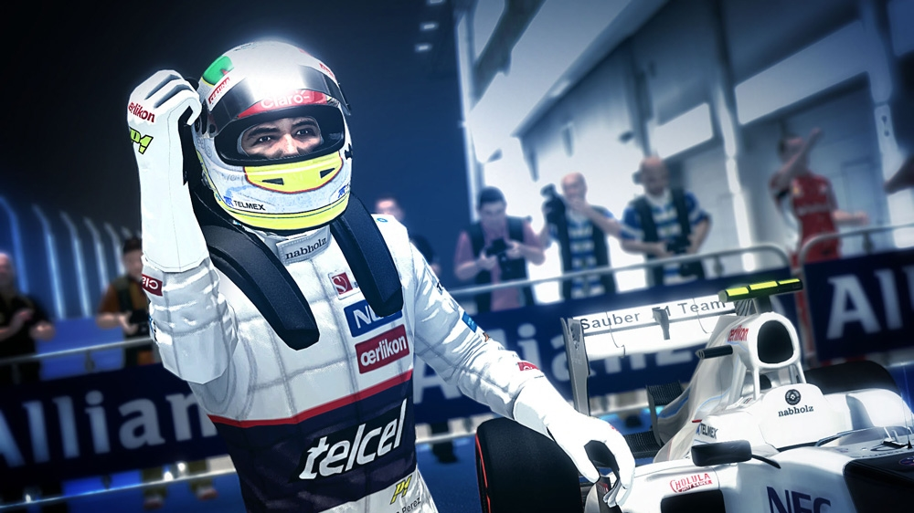 Image from F1 2012™ Champions Mode Trailer