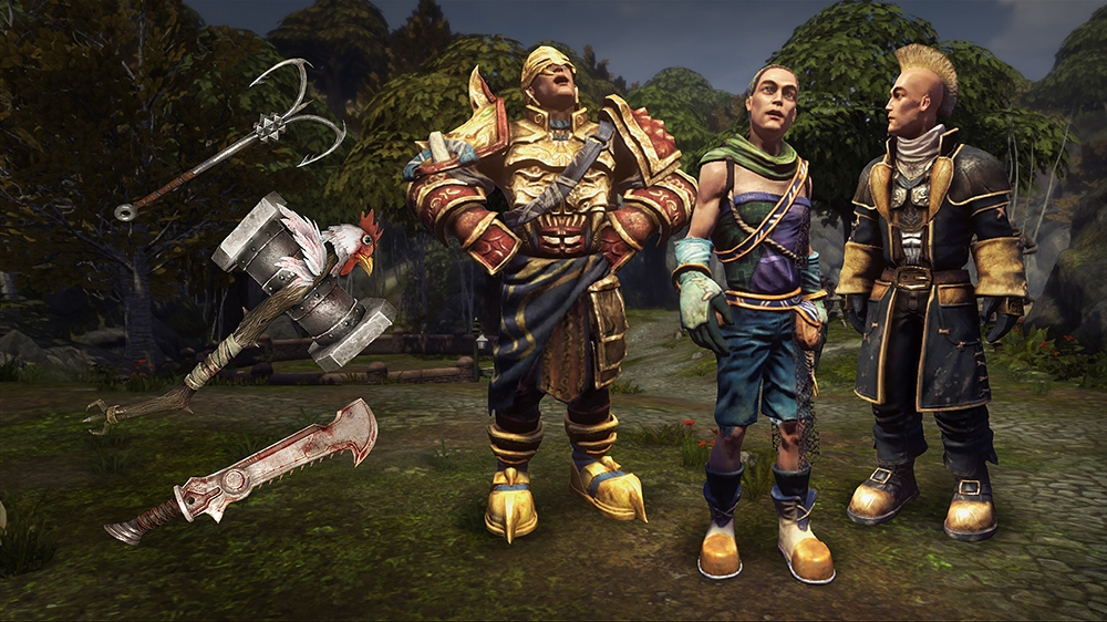 Image from Fable Hero's Weapons and Outfits Pack