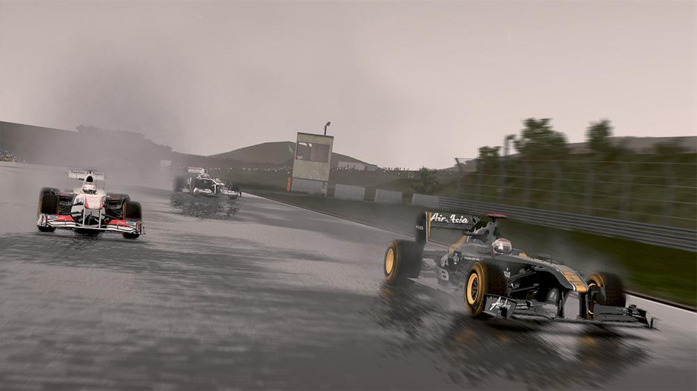 Image from F1 2011™ Developer Diary 1