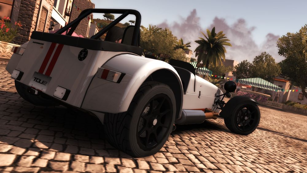 Image from TDU 2: Caterham Superlight R500