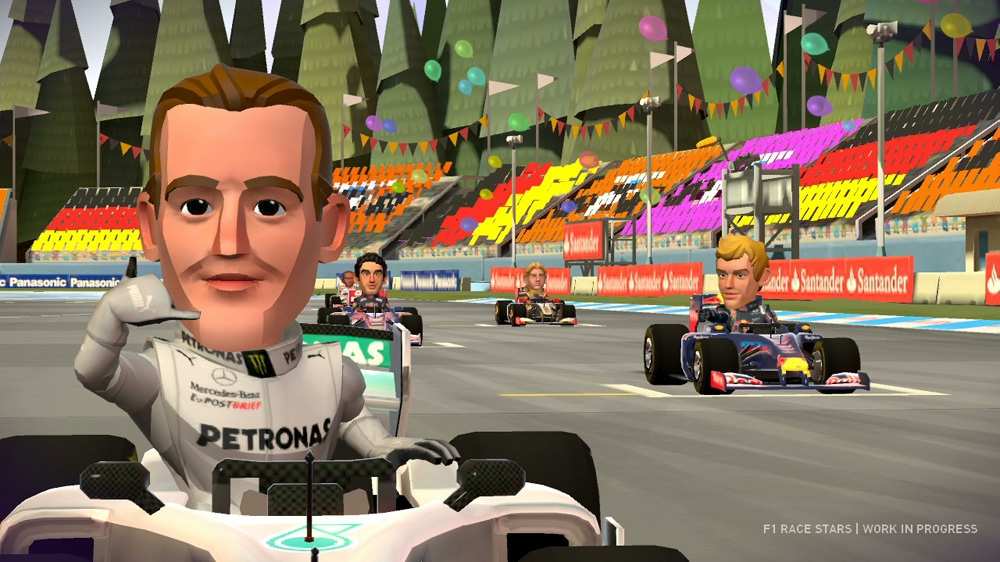 Image from F1 Race Stars Bottle Rocket parody Ad