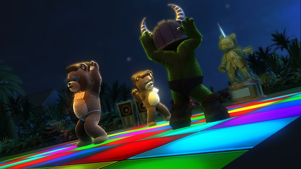Image from Naughty Bear Panic in Paradise - Naughty Unlocks
