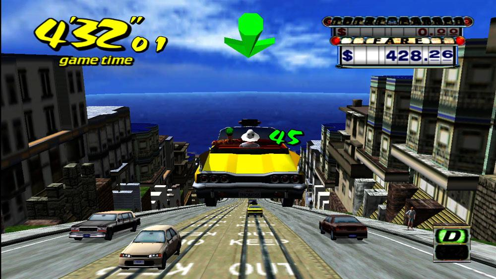 Image from Crazy Taxi Trailer