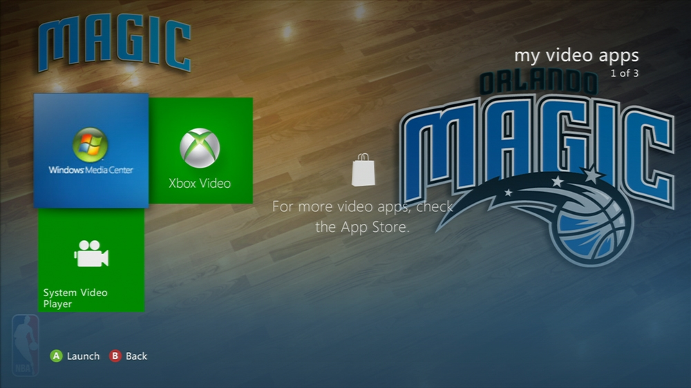 Kuva pelistä NBA: Magic Center Court
