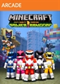 Pack de aspectos de Power Rangers de Minecraft