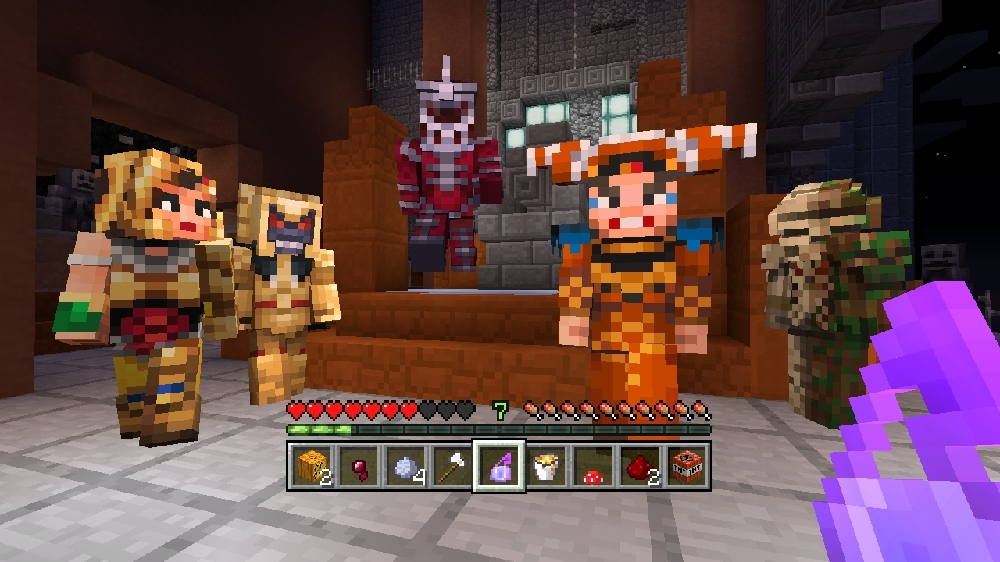 Image de Pack de skins Power Rangers Minecraft