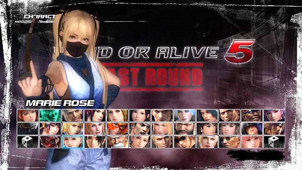Image from DOA5LR Ninja Clan 1 - Marie Rose