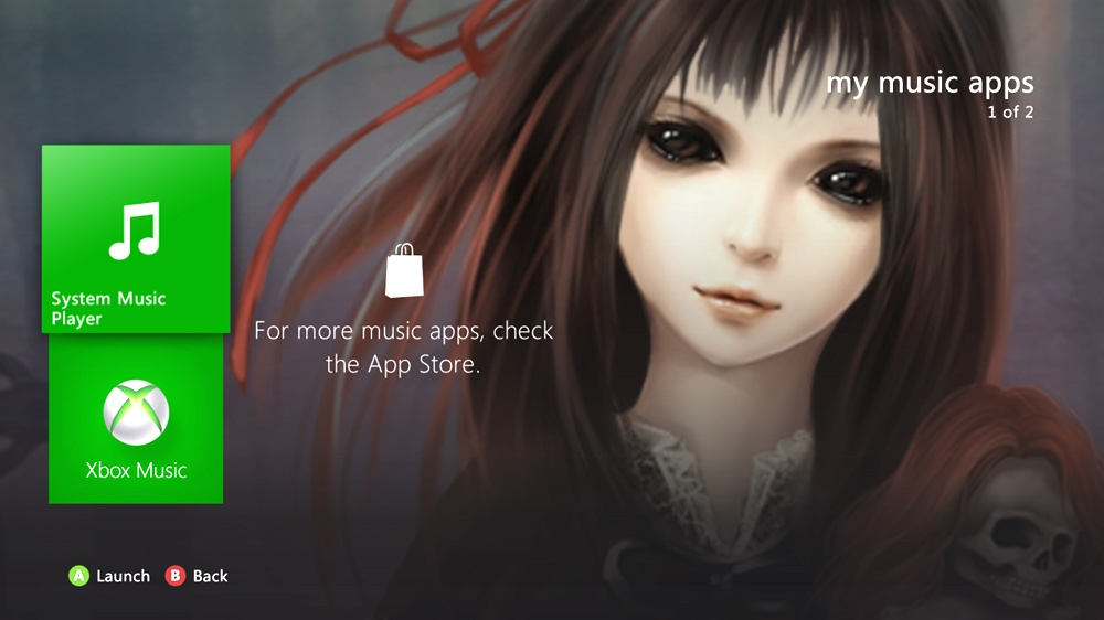 Image from Horror Zombie Girl 1 Theme