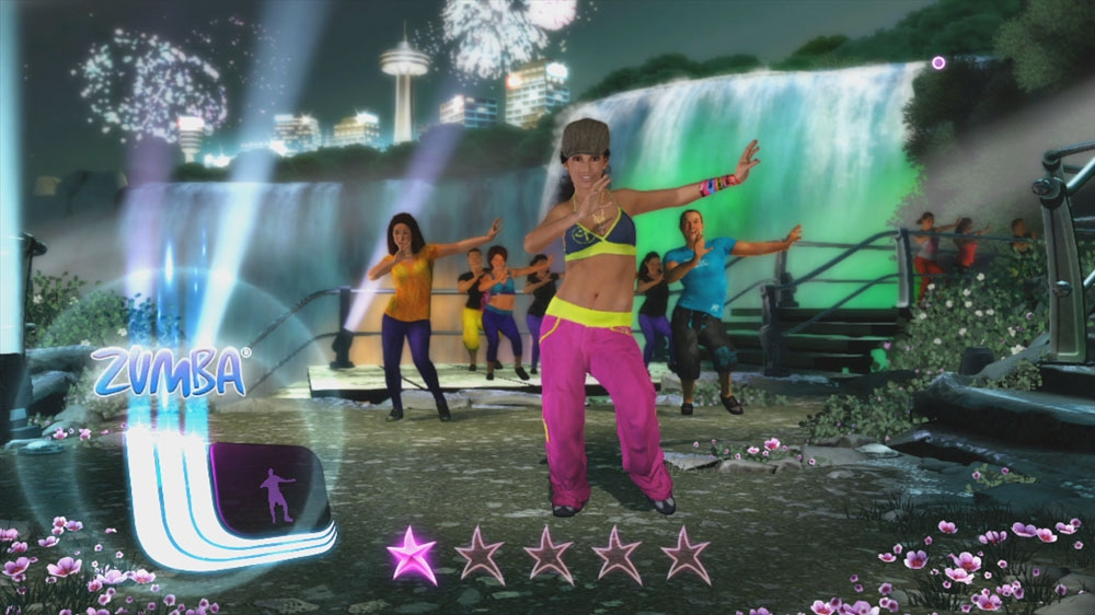 Image from Zumba Fitness Core Launch Trailer