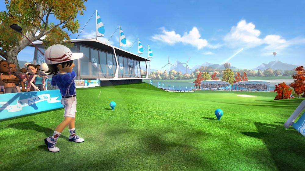 Bild von Kinect Sports: Season Two – Ahornsee-Golf-Paket