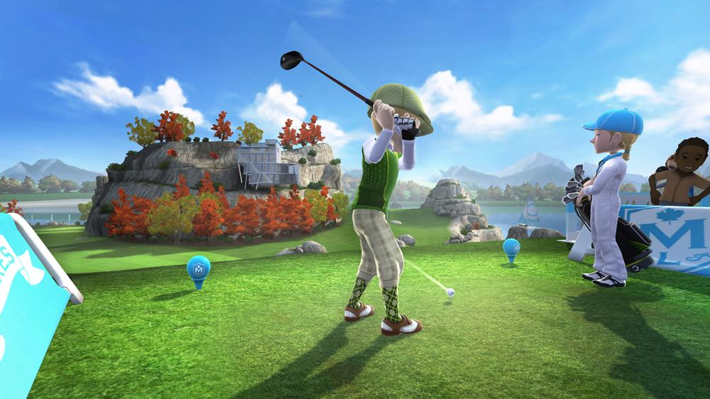 Image from Kinect Sports: Season Two Maple Lakes Golf Pack