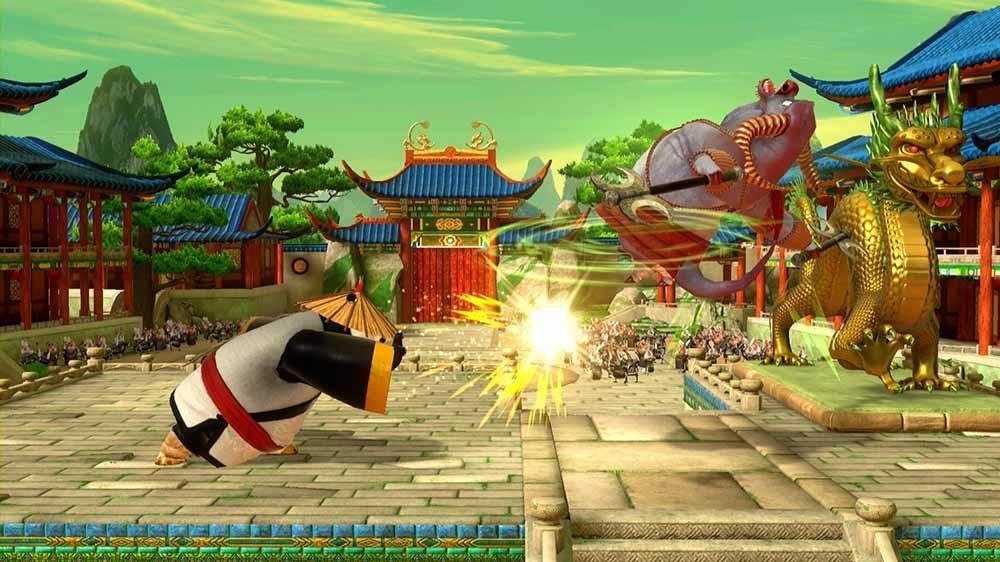 Obraz z Kung Fu Panda Character: Warrior Po