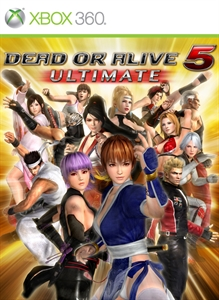 Tenue mythe d'Hayabusa Dead or Alive 5 Ultimate