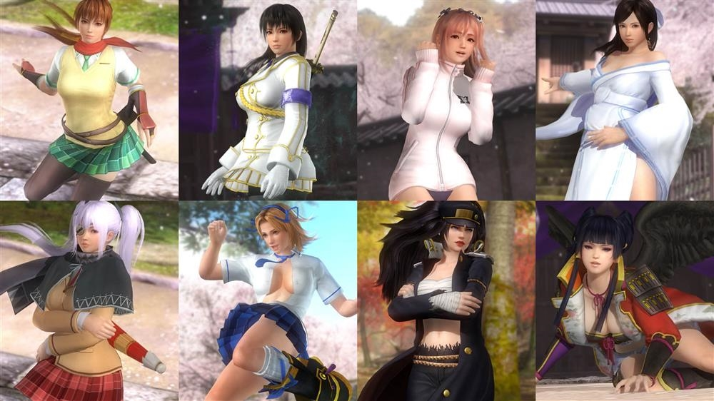Image from DOA5LR Costume Catalog LR07