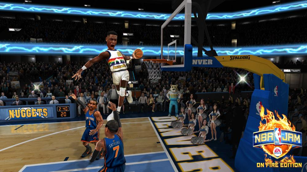 Image from NBA JAM: On Fire Edition - Legends Sizzle