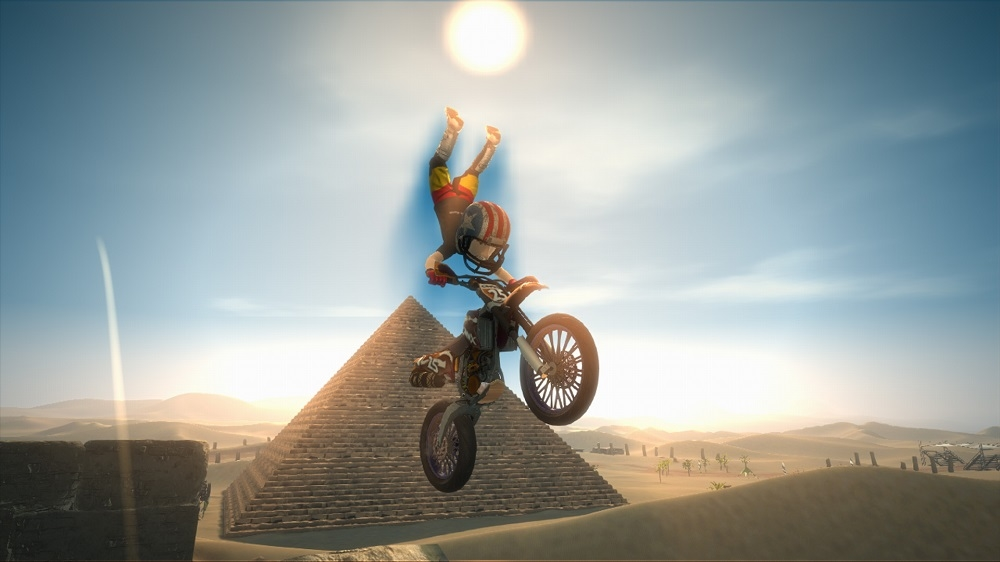 Image from Motocross Madness Launch Trailer