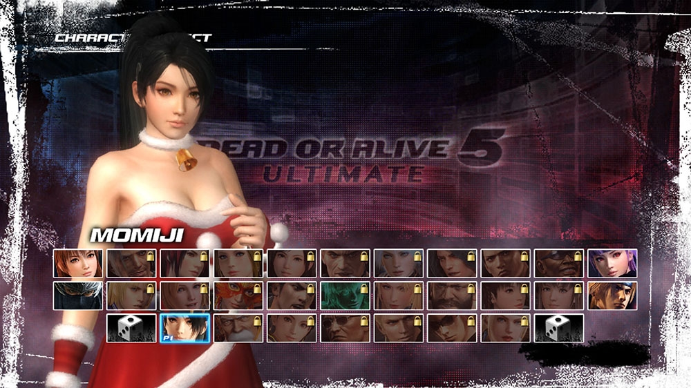 Image from Dead or Alive 5 Ultimate Santa's Helper Momiji