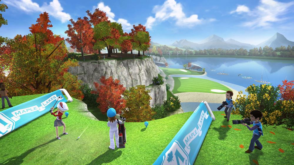 Image from Kinect Sports Season 2  Maple Lakes Trailer