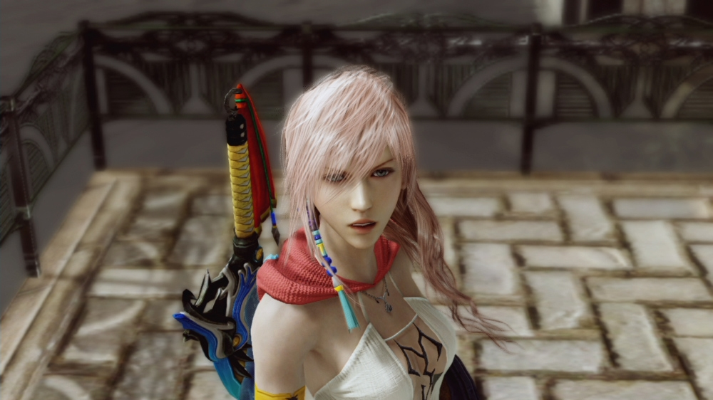 Image from FFX-2 Yuna