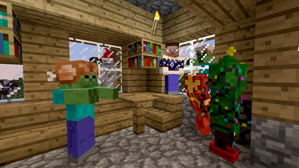 Image from Minecraft Festive Skin Pack