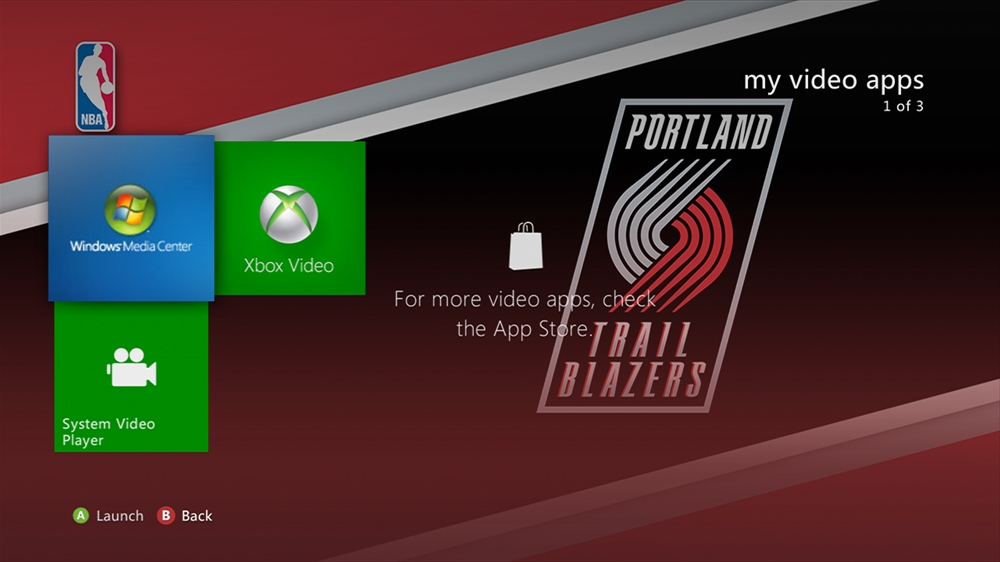 Image from NBA - Trail Blazers Highlight Theme