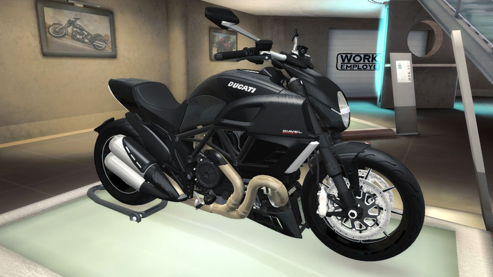 Image from TDU2: Ducati Diavel Carbon