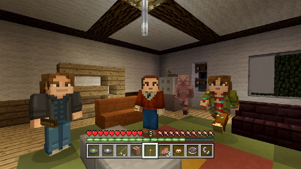 Image from Minecraft Stranger Things Skin Pack