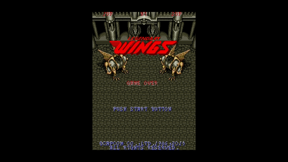 Image from CAPCOM ARCADE CABINET : LEGENDARY WINGS
