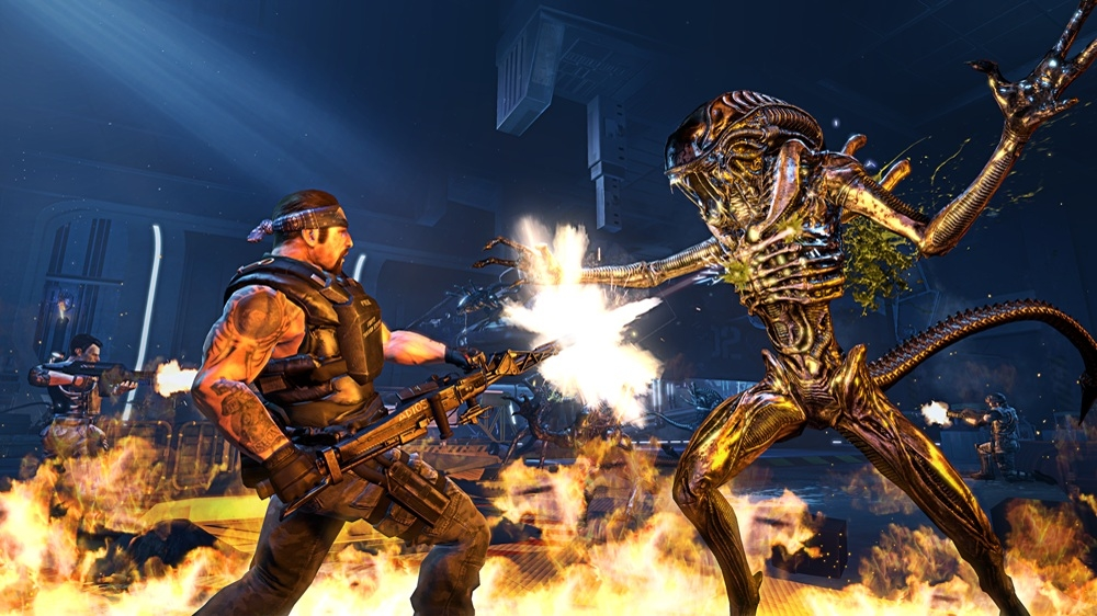 Image from Aliens: Colonial Marines SHARP Sticks