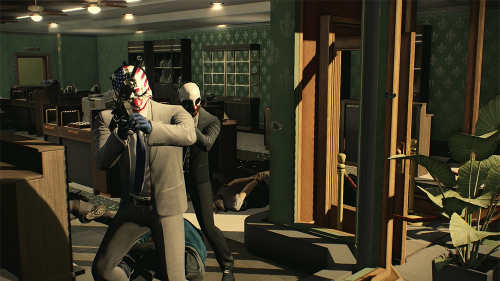 Image from PAYDAY 2 Gameplay 1 trailer.
