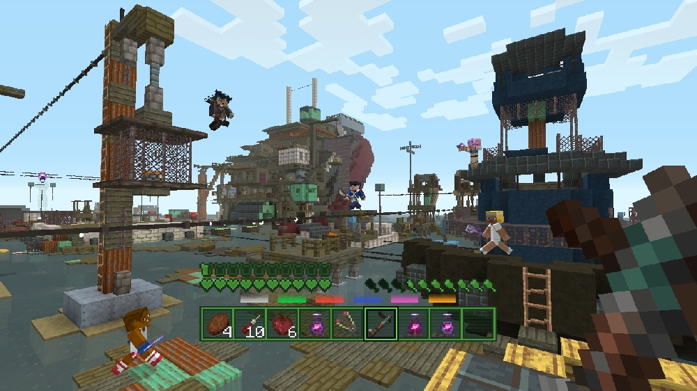 Image from Minecraft Fallout Battle Map Pack