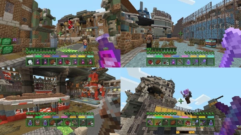 Image de Pack Cartes de Bataille Fallout Minecraft