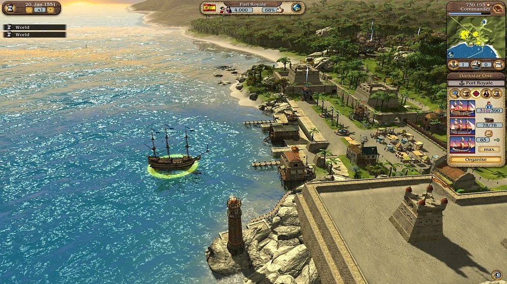Image de Port Royale 3 - New Adventures
